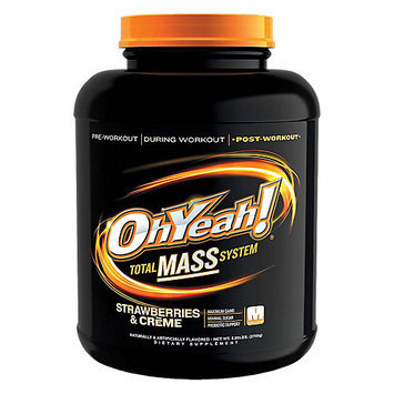 Ohyeah Nutrition ISS Research OhYeah! Total Mass System - Strawberry (5.95 lb)
