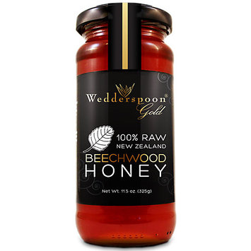 Wedderspoon Organics, 100% Raw Organic Active Beachwood Honey 325g