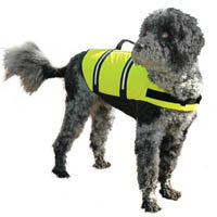 Paws Aboard Doggy Life Jacket in Yellow, Large