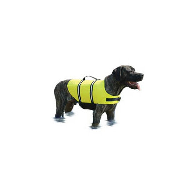 Paws Aboard Yellow Doggy Life Jacket extra large