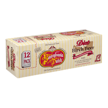 Pennsylvania Dutch Birch Beer Diet - 12 CT