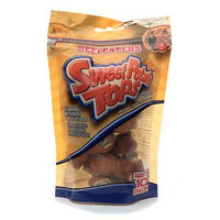 Beefeaters Sweet Potato Tops Covered Rawhide Bones