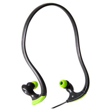 Gaiam Behind-Neck Earbud Headphones