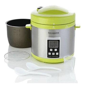 Bon Appetit BAPCR010G 7Qt. Programmable Heavy Duty Pressure Cooker in Green