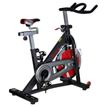 Sunny Health and Fitness Indoor Cycling Bike - Dark Grey