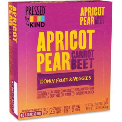 KIND® Pressed Apricot Pear Carrot Beet Bars