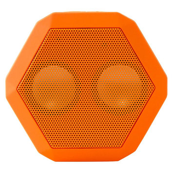 Boombotix Rex Bluetooth Portable Speaker Orange, One Size