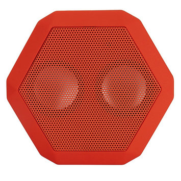 Boombotix Rex Bluetooth Portable Speaker Red, One Size