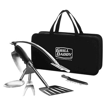 Grill Tool Set: Grill Daddy 6 in 1 BBQ Tool Set