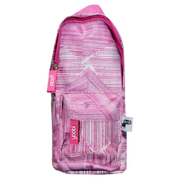 Yoobi, Lcc Yoobi x Usher Backpack Pencil Case - Pink Lines