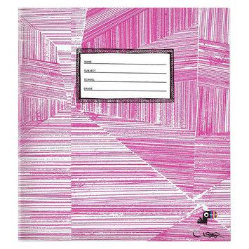 Yoobi, Lcc Yoobi x Usher 1 Inch Binder with D-Rings - Pink Lines