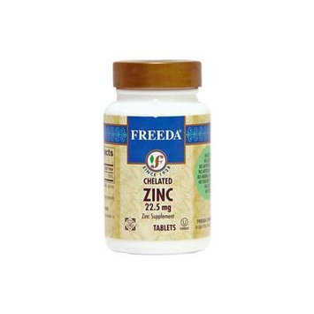 Freeda Kosher Zinc Chelated 22.5 Mg. - 250 TAB