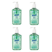 Quest Purell Advanced With Aloe Instant Hand Sanitizer - 12 oz (4 Pack)