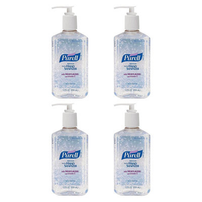 Quest Purell Advanced Instant Hand Sanitizer - 12 oz (4 Pack)