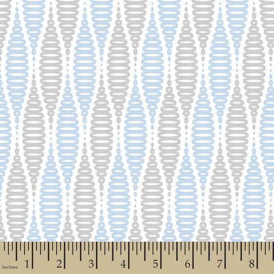 Springs Creative Jack Coil Blue Flannel Fabric