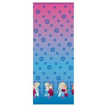 Disney Frozen Ombre Mock Smock Fabric