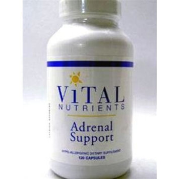 Vital Nutrients - Adrenal Support 120c [Health and Beauty]