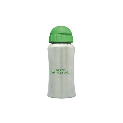 i Play - Green Sprouts Stainless Steel Bottle - 12 oz. CLEARANCE PRICED.
