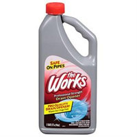 A & M Cleaning 33320WK The Works Drain Opener - 32 oz Pack Of 6