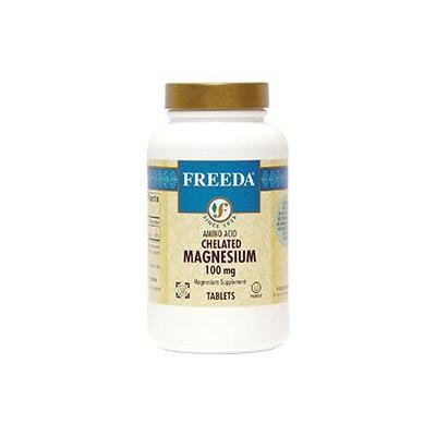 Freeda Kosher Chelated Magnesium 500 TAB