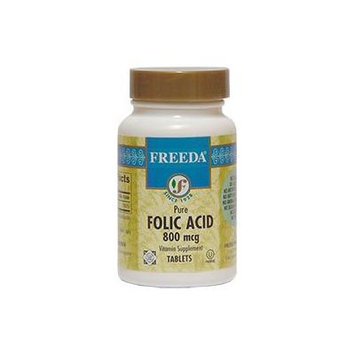 Freeda Kosher Folic Acid 800 Mcg. - 100 TAB