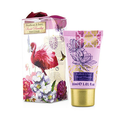 Heathcote & Ivory Secret Paradise Hanging Hand Cream, 30ml