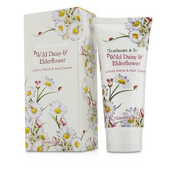 Healthcote & Ivory Wild Daisy & Elderflower Luxury Hand & Nail Cream 100ml/3.38oz