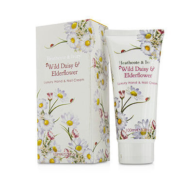 Healthcote & Ivory Wild Daisy & Elderflower Luxury Hand & Nail Cream 100ml/3.38oz