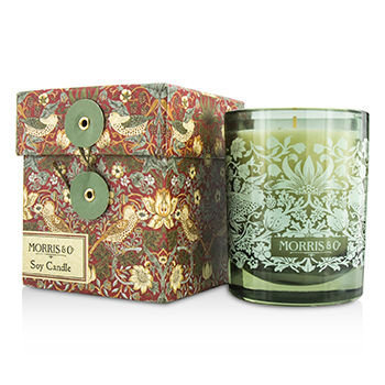 William Morris - Strawberry Thief Soy Candle