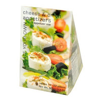 Foxy Gourmet Appetizers Cheese & Onion Mix, 3.20-Ounce Boxes (Pack of 3)