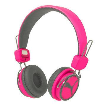 PUMA League Over-Ear Headphones, Pink