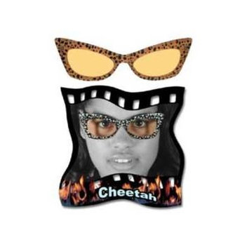 Yellow Cheetah Glasses [Eyewear]