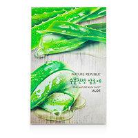 Nature Republic - Real Nature Mask Sheet (Aloe) 10 sheets