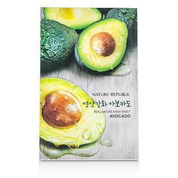 Nature Republic - Real Nature Mask Sheet (Avocado) 10 sheets