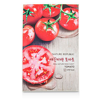 Nature Republic - Real Nature Mask Sheet (Tomato) 10 sheets