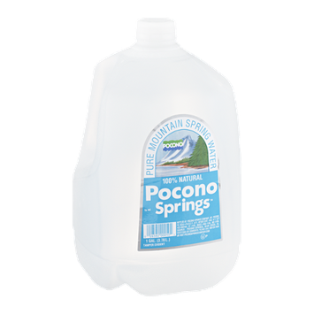 Pocono Springs Water 100% Natural