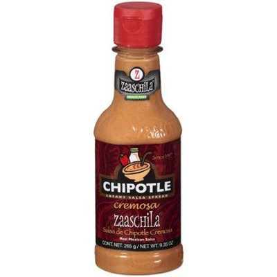 Zaaschila Chipotle Creamy Salsa Spread Real Mexican Salsa, 265 G