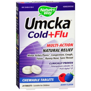 Umcka Cold+Flu Chewable Tablets