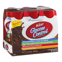 Boost Glucose Control Nutritional Drink Rich Chocolate - 6 PK