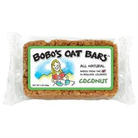 Bobos Oat Bars Coconut All Natural Wheat Free Oat Bar, 3 oz