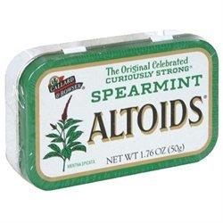 Altoids 606000 1.76oz. Spearmint Snacks