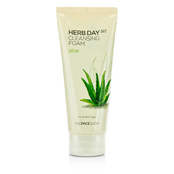 The Face Shop - Herb Day Cleansing Cleansing Foam (Aloe) (Hydrating) 170ml
