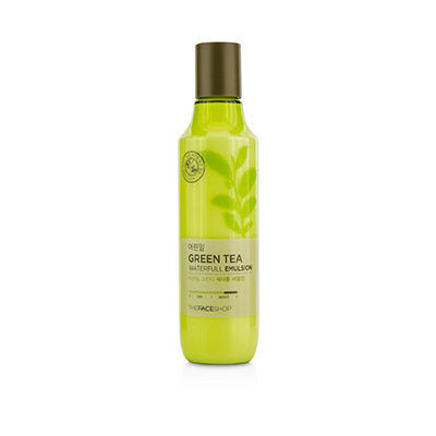 The Face Shop Baby Leaf Green Tea Waterfull Emulsion 150ml