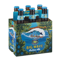 Kona Brewing Co. Big Wave Golden Ale - 6 CT