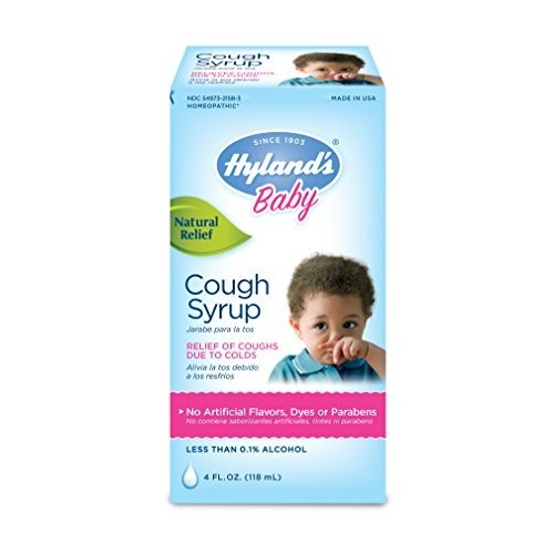 Hylands Homeopathic Hyland's Baby Cough Syrup, 4 Fluid Ounces