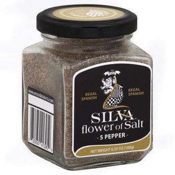 Silva Regal Spanish Flower of Salt 5 Pepper 6.35 oz
