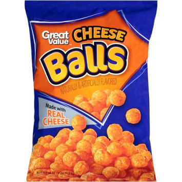 Wal-mart Store, Inc. Great Value Cheese Balls, 16 oz