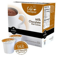 Keurig Cafe Escapes Milk Chocolate Hot Cocoa K-Cups, 96 Ct. Casepack