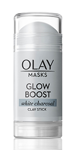 Olay Glow Boost White Charcoal Clay Face Mask Stick