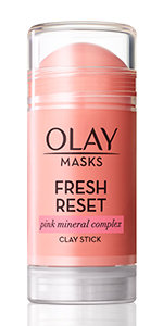 Olay Fresh Reset Pink Mineral Complex Clay Face Mask Stick